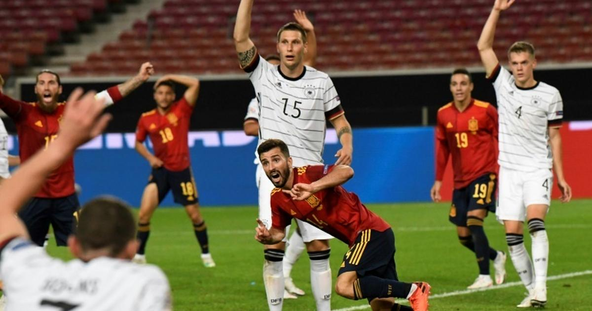 UEFA Nations League: Spain's Gaya nets late goal to snatch draw with Germany