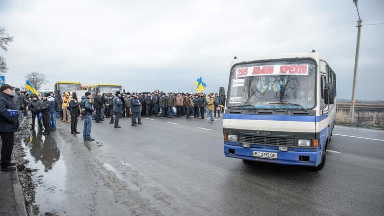 Protestujący domagają się wypłaty zaległych wynagrodzeń i zwiększenia finansowania górnictwa