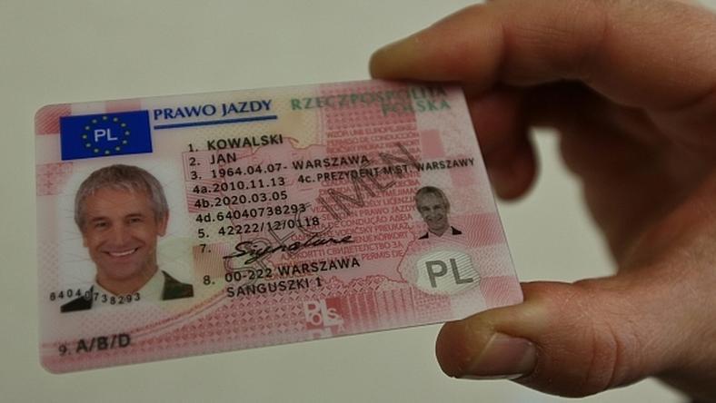 Prawo jazdy - nowy wzór dokumentu