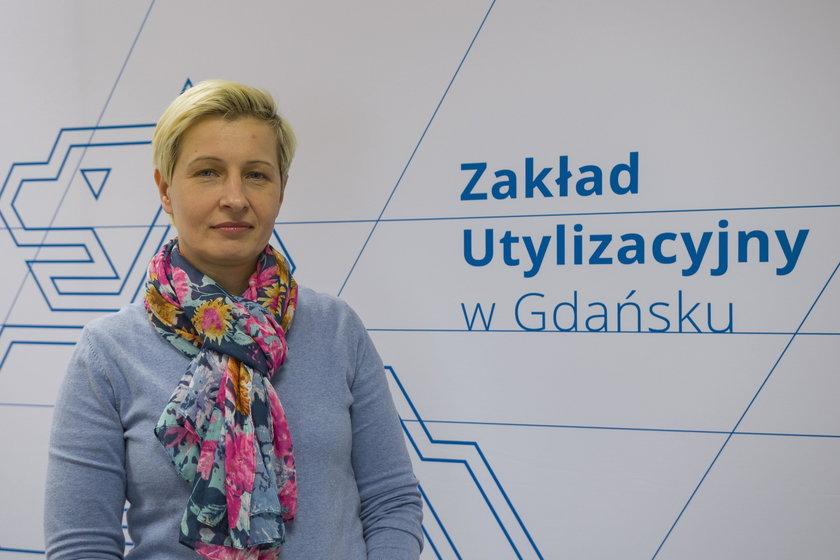 Monika Łapińska-Kopiejć, zakład utylizacyjny
