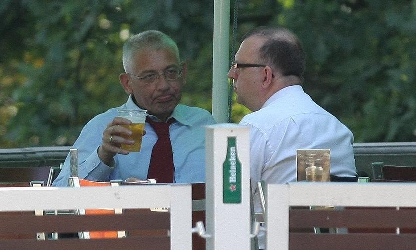 Alkoholowe libacje posłów