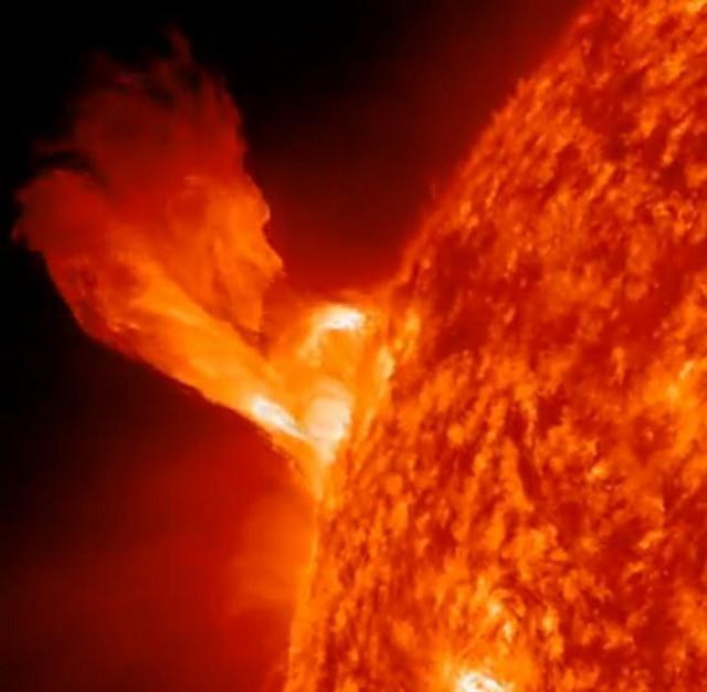 Erupcija na novogodišnje veče, 31. decembra 2012.