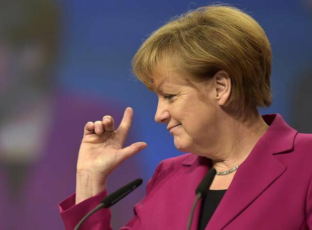 """""""Novi lider slobodnog sveta"""":Angela Merkel"""