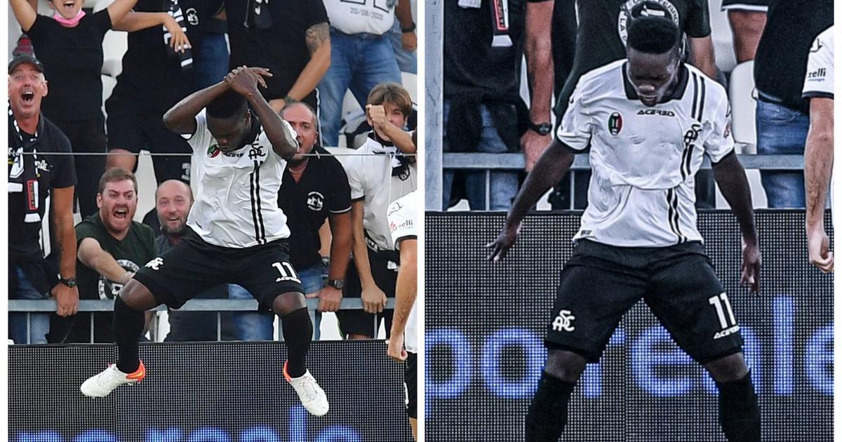 Emmanuel Gyasi: Ghana striker scores against Juventus and celebrates like Ronaldo