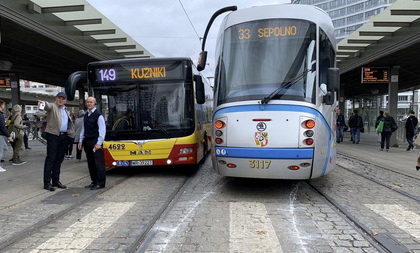 Wykolejenia wrocławskich tramwajów
