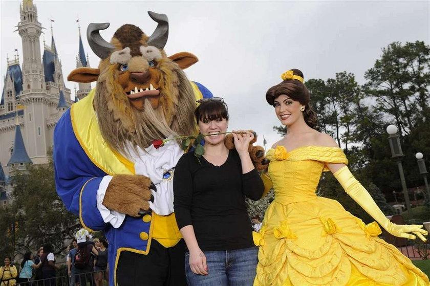 Clarkson w Disneylandzie