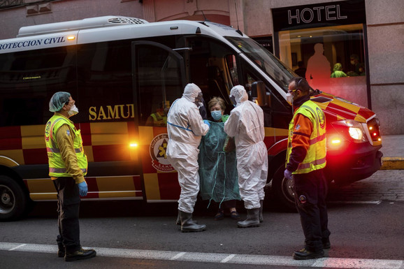 Korona virus je bolnice ostavio na ivici kolapsa