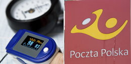 Poczta Polska zarabia krocie na pulsoksymetrach dla chorych Polaków. Stawka kilka razy wyższa niż zwykle
