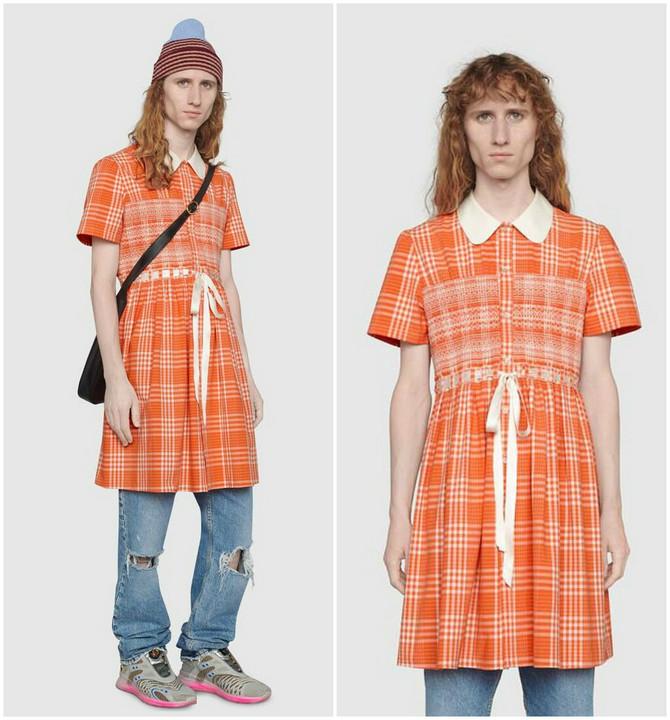 Gucci je predstavio haljinu za muškarce