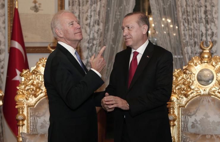Džo Bajden, Redžep Tajip Erdogan