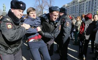 Rekordowa liczba zatrzymań ws. niedzielnego protestu w Moskwie