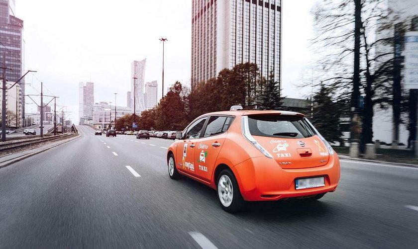 Elektryczne taksówki mytaxi