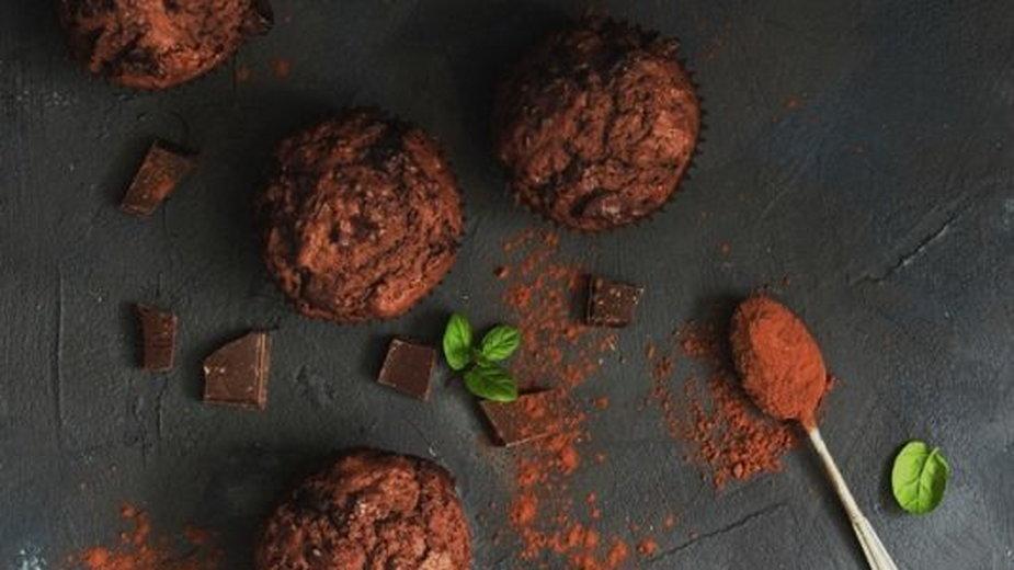 Obłędnie czekoladowe babeczki