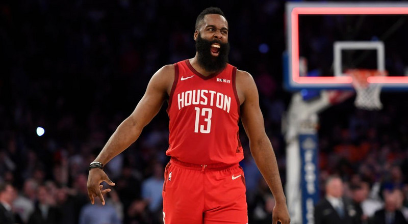 James Harden puts up 61 points  in Rockets win over Knicks