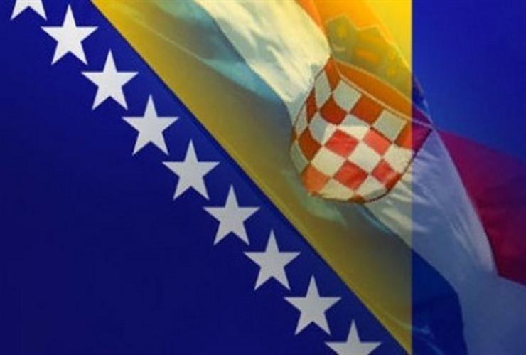hrvatska i bih zastave