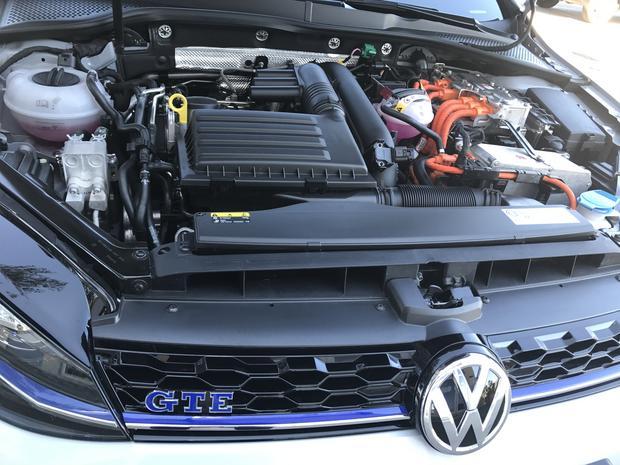 Golf GTE. Silnik bez zmian. Dalej 1.4TSI