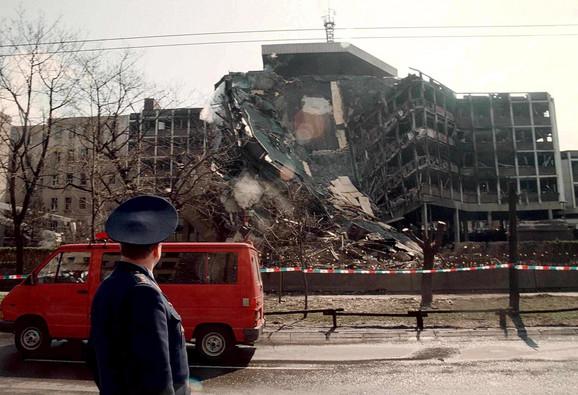 Nato bombardovanje Generalštaba 1999.
