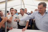 Milorad Dodik pod satorom Kocicev zbor