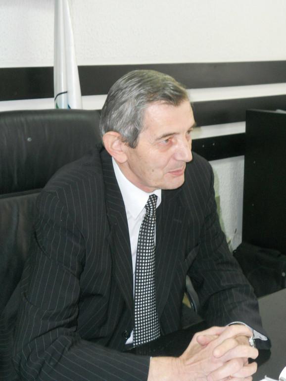 Voda neispravna: Predsednik opštine Gornji Milanovac Milisav Mirković