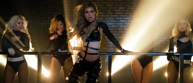 """Ivana Nikolić (""""Hurricane"""") u spotu za pesmu """"Hasta la vista"""""""