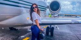 Adriana zaginęła po wejściu do samolotu. Następnego dnia znaleziono zwłoki