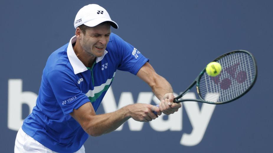Hurkacz - Raonić: ATP w Miami