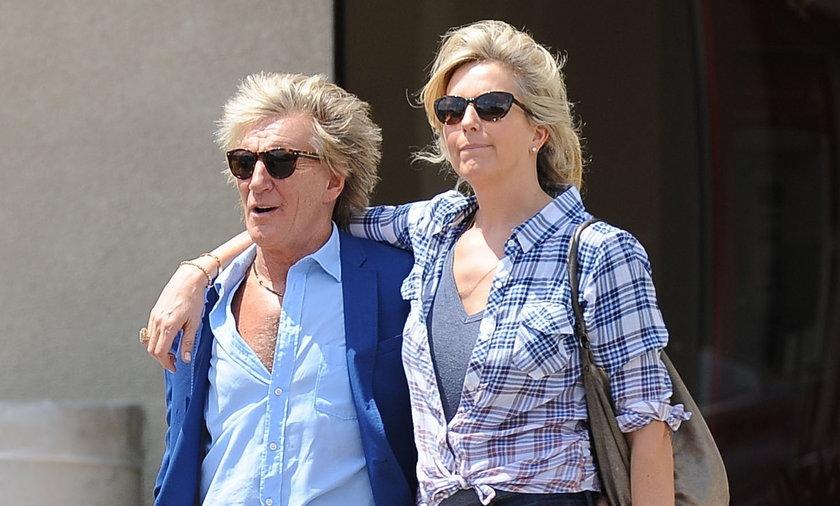 Rod Stewart i Penny Lancaster