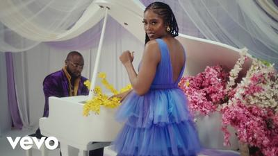 Tiwa Savage and Davido go 70's soul in new 'Park Well' video