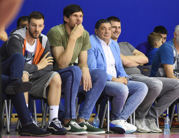 Jelovac, Marjanović, Miško Ražnatović i Jokić