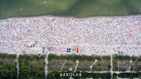 Zdjęcie dnia: tłumy na plaży we Władysławowie