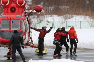 W Tatrach zeszła lawina. Dwóch mężczyzn trafiło do szpitala