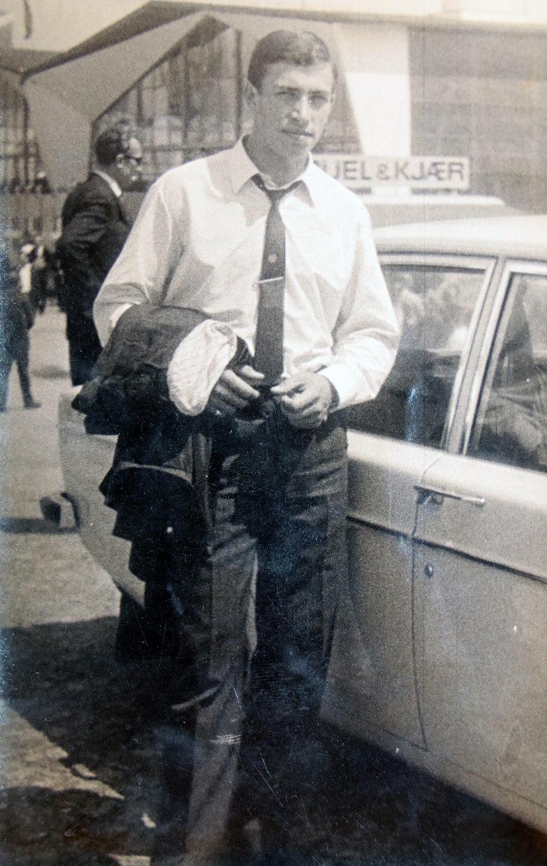 Pan Stanisław na zdjęciu archiwalnych, lata 70.