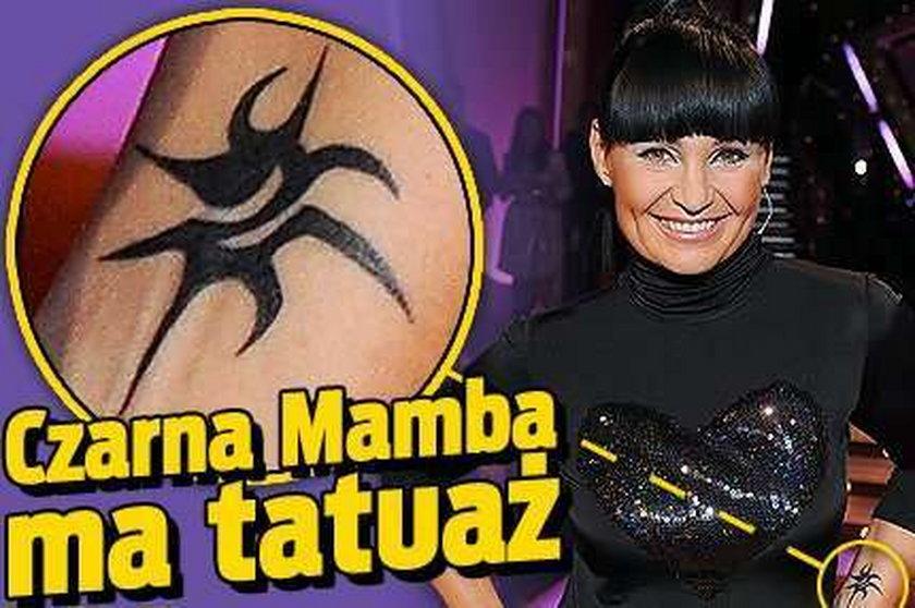 Czarna Mamba ma tatuaż! FOTO