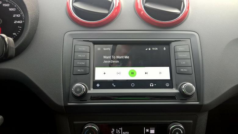 Android Auto - Spotify, czyli słuchanie muzyki z internetu