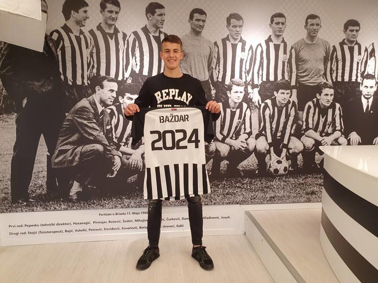 Samed Baždar, FK Partizan