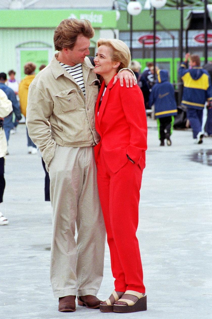 Monika Zamachowska i Will Richardson