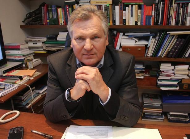 Aleksander Kwaśniewski. Fot. Newspix.pl/Paweł Stępniewski