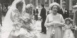 Ukrywane zdjęcia ślubne Diany i Karola. Co robiła królowa?
