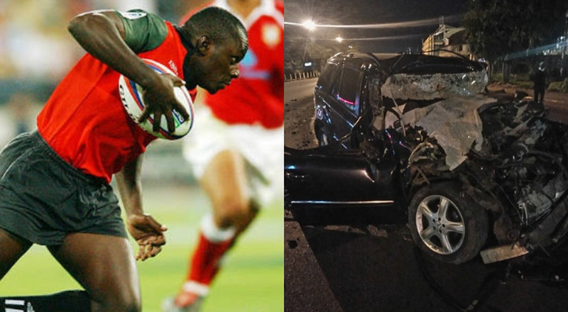 Former Kenya 7s Rugby Player dies in grisly road accident
