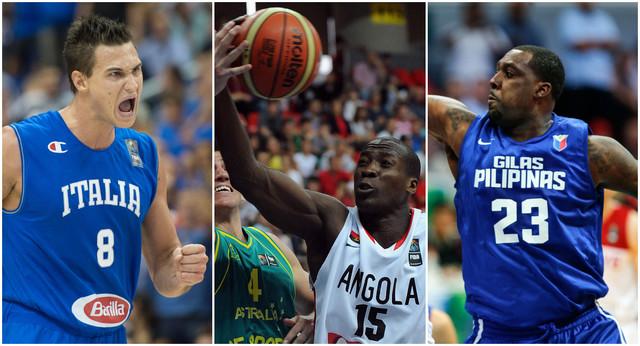 NBA as Italije Danilo Galinari, Edvardo Mingas, Andrej Bleč