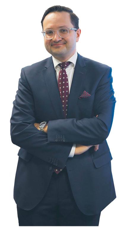 Mariusz Jerzy Golecki od października ub.r. rzecznik finansowy. W latach 2016–2017 dyrektor departamentu prawnego w Ministerstwie Finansów oraz dyrektor departamentu prawa międzynarodowego i europejskiego w Prokuratorii Generalnej  fot. Wojtek Górski