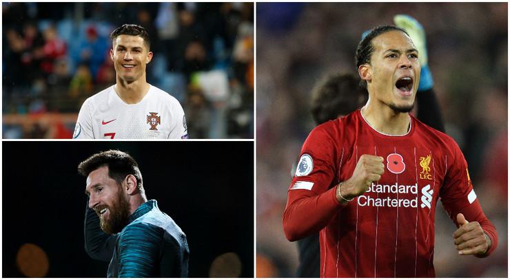 Ronaldo, Mesi i Van Dajk
