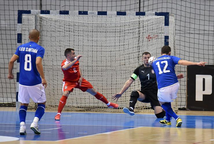 Futsal reprezrenetacija Srbije, Futsal reprezentacija Brazila