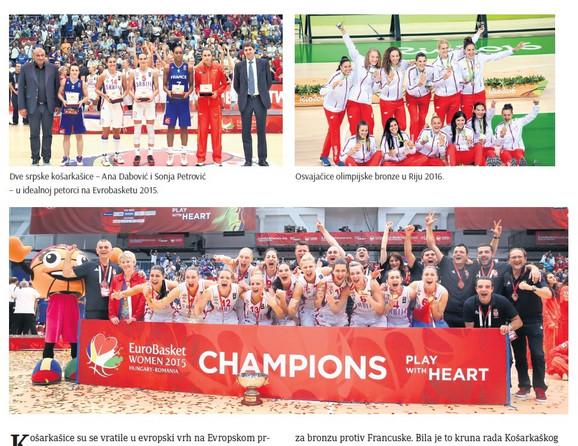 Naše košarkašice su, pod komandnom palicom selektora Marine Maljković, toliko bile impresivne na najvećoj sceni da ih sa pravom sada zovu -