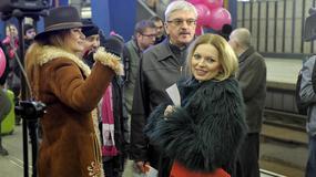 Przejazd Expressu Radiowej Trójki - dziennikarze i gwiazdy w roli pracowników PKP