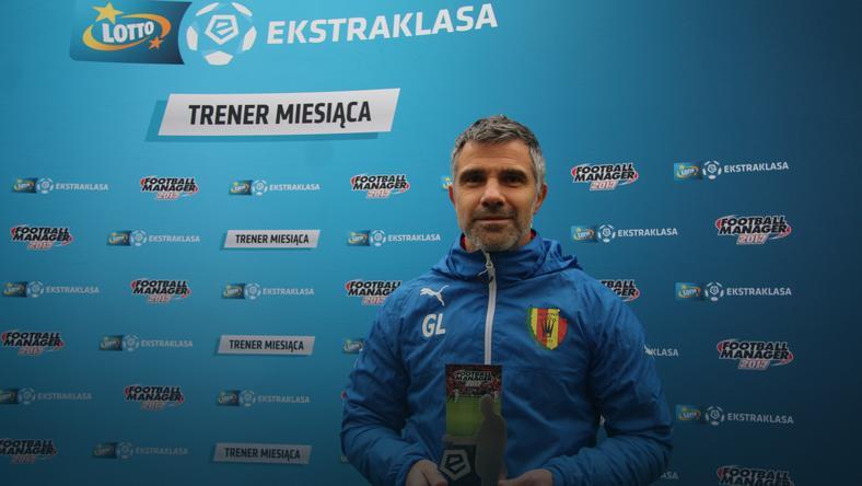 Gino Lettieri trenerem października w LOTTO Ekstraklasie