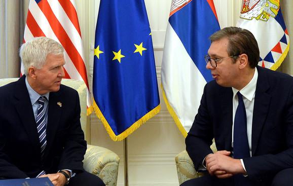 Sastanak Vučića i Skota