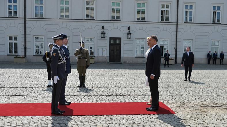 Inauguracja II kadencji Prezydenta RP 4