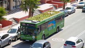 PhytoKinetic - autobusy z ogrodem na dachu na ulicach Hiszpanii