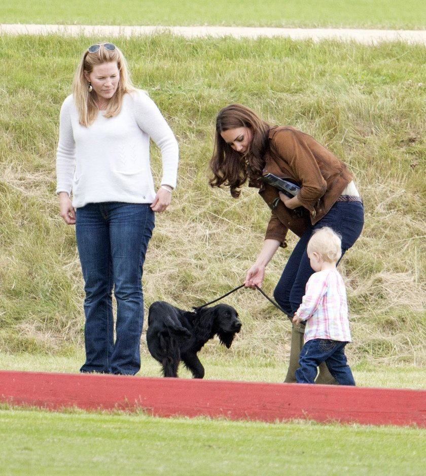 Psa Lupo kochały też dzieci pary książęcej